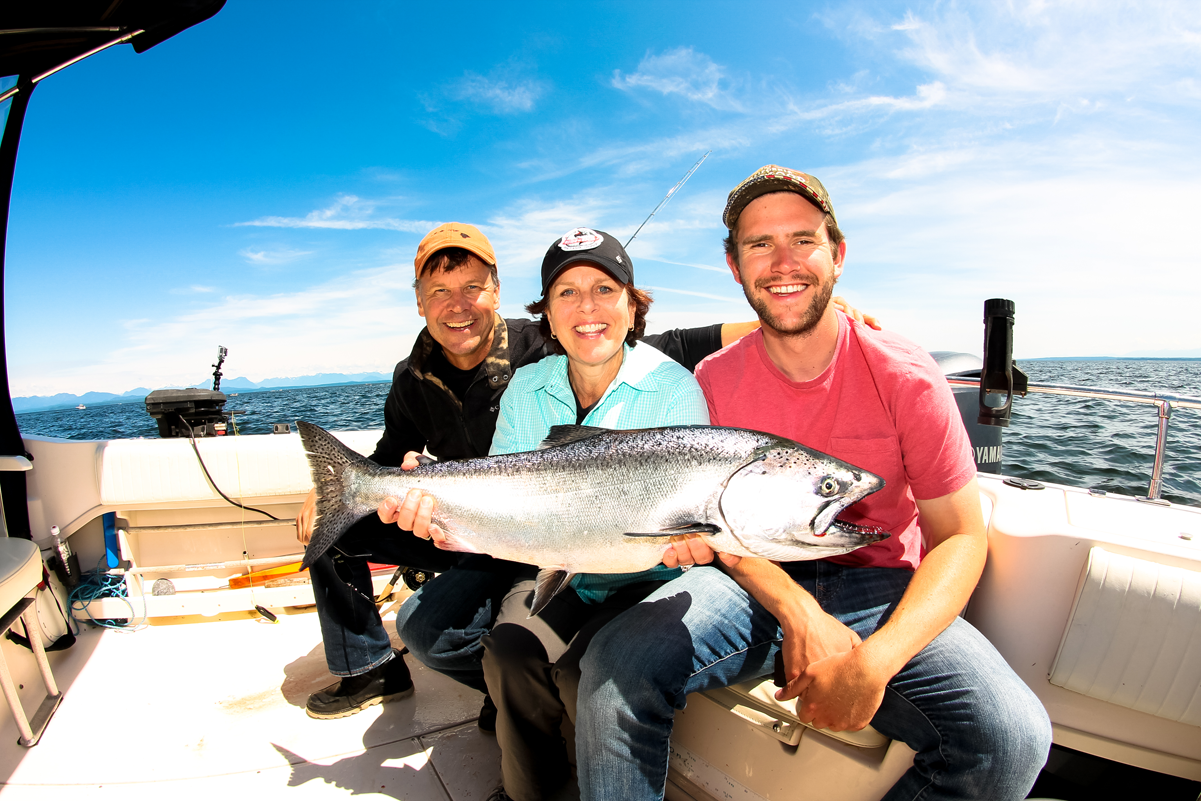 Salmon Fishing Trips with Coastal Wilderness adventures