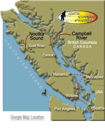 Travel information to Campbell River and Vancouver Island