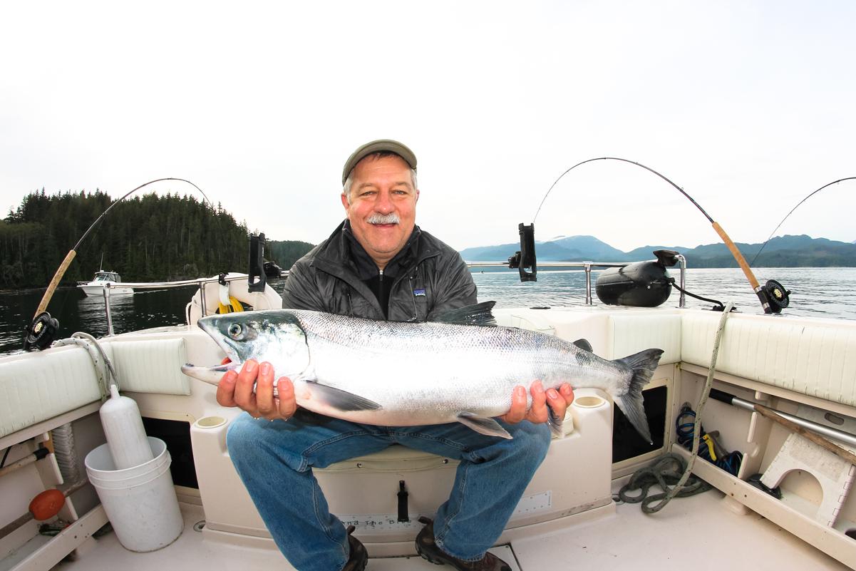 Salmon and Bottom Fishing