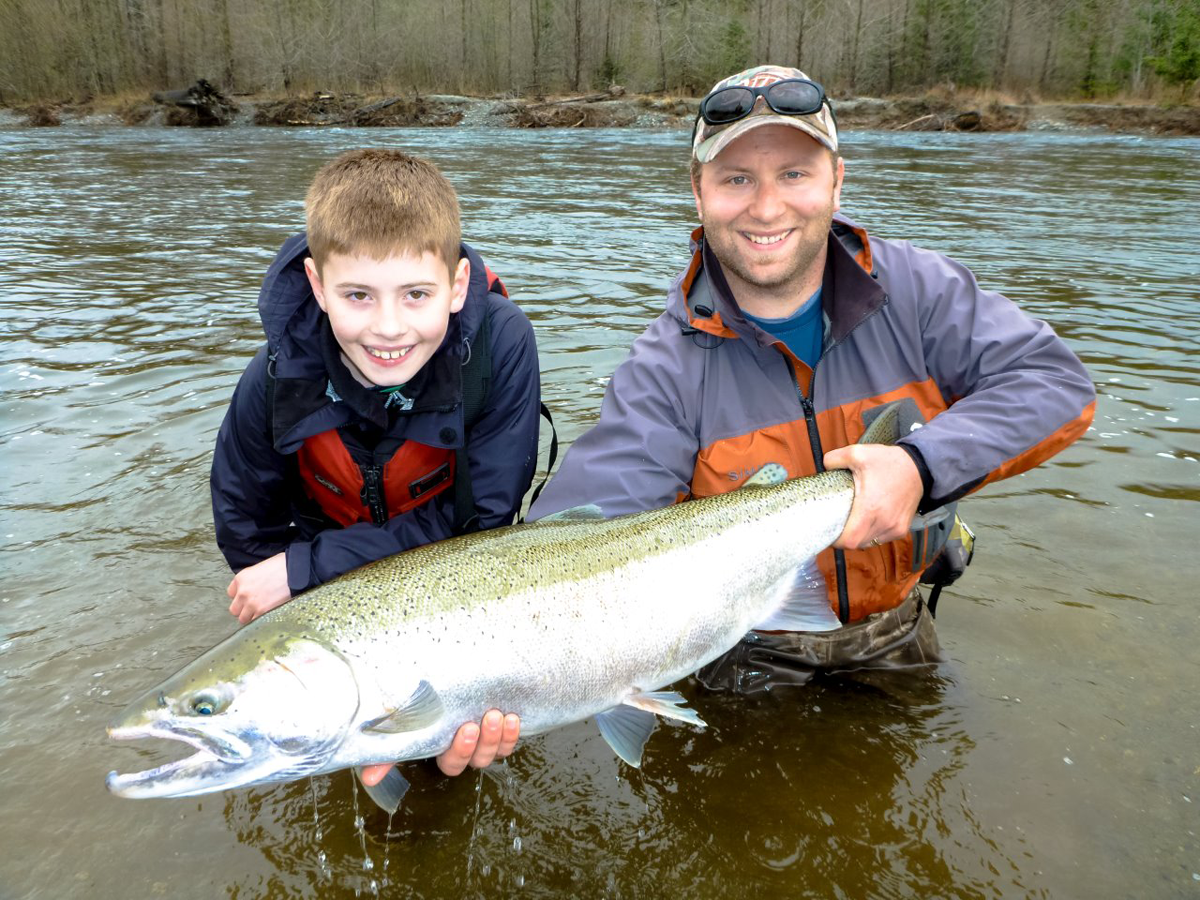 Gold River Steelhead Fishing