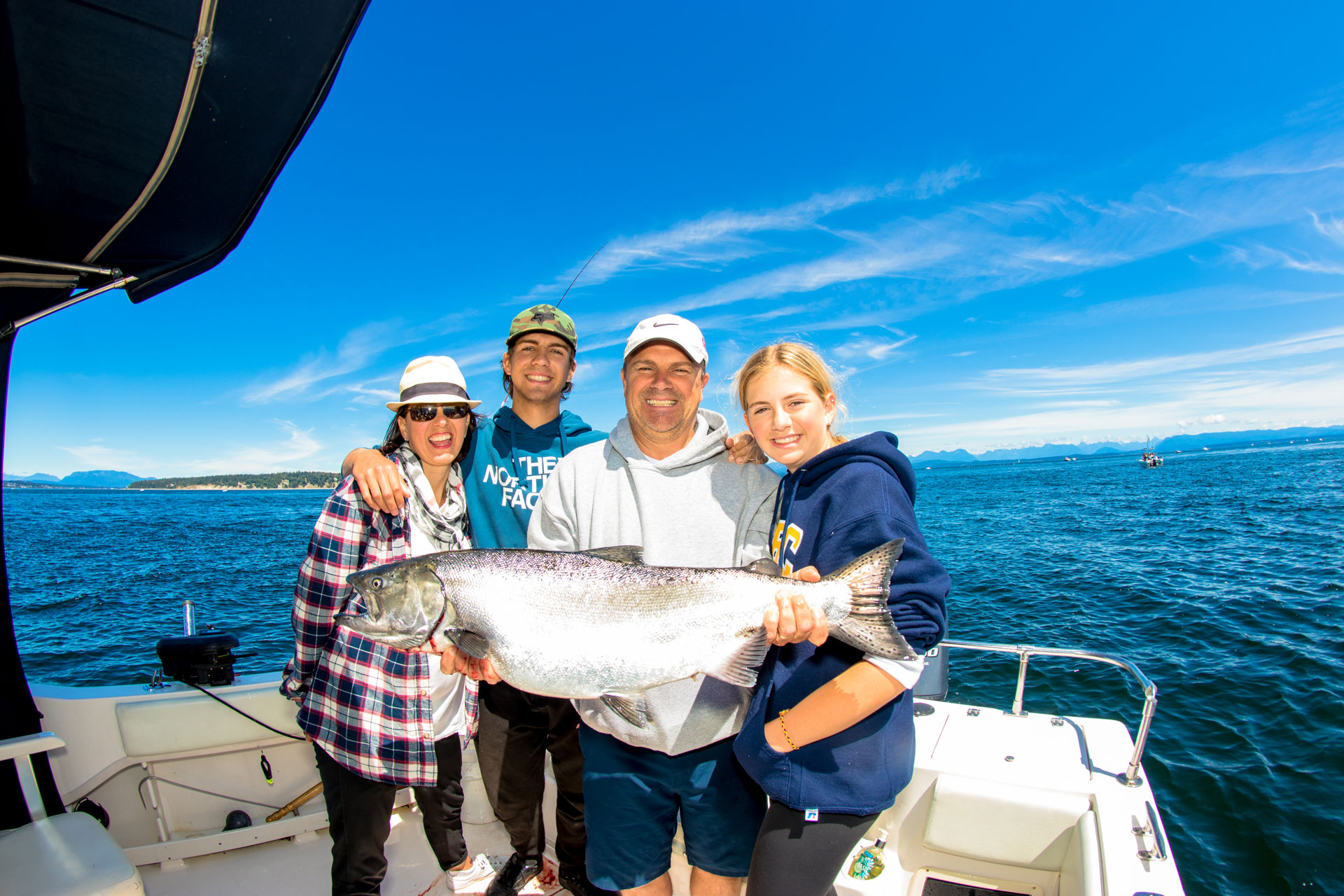family fishing trips in campbell river